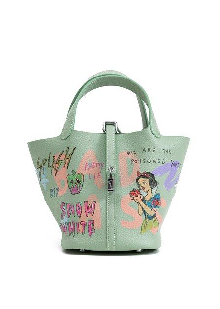 Guernika Paint Cube Bag - Green