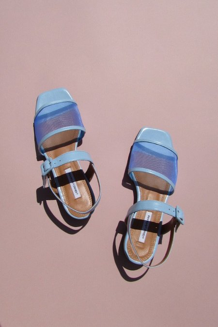 About Arianne marini mesh SHOES - BABY BLUE