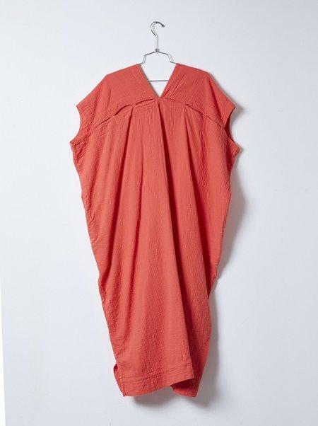 Atelier Delphine Crescent Long Dress - Scarlet