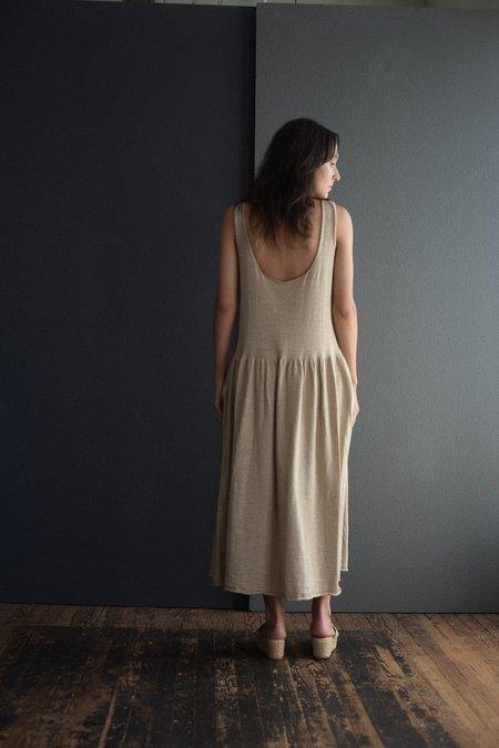 Lauren Manoogian Tier Slip Dress - Griege