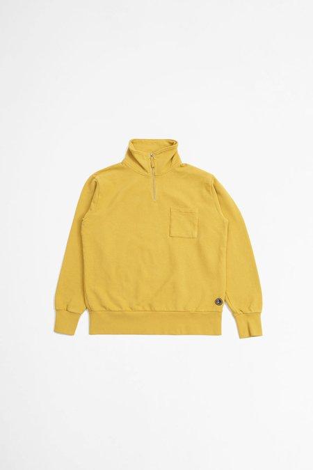 Universal Works Half-Zip Sweatshirt - Gold