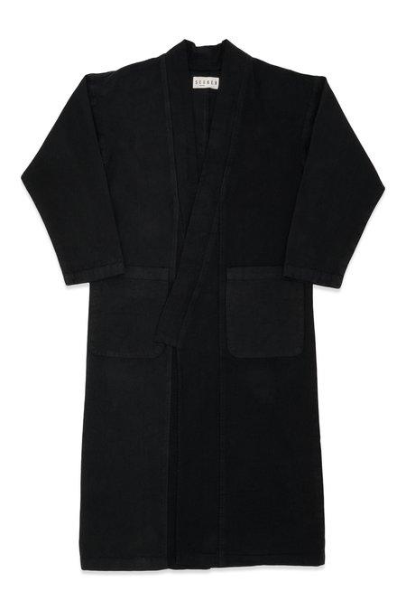 SEEKER Kimono COAT - Slate
