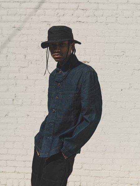 Lemaire Denim Workwear Overshirt - Jean Blue