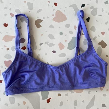 Nu Swim Ha-Ra Bralette Bikini Top - Wisteria Shimmer