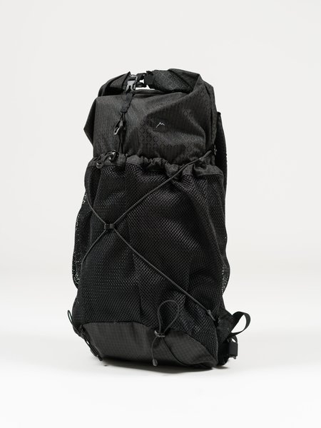 CAYL Gaya Rolltop B-Grid Mesh bag - Black