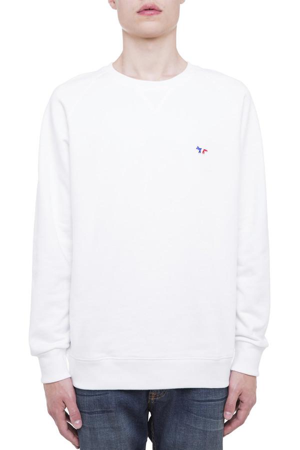 Men's Kitsune White Fox Patch Sweatshirt