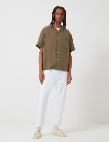 Potuguese Flannel Dogtown Shirt - Olive