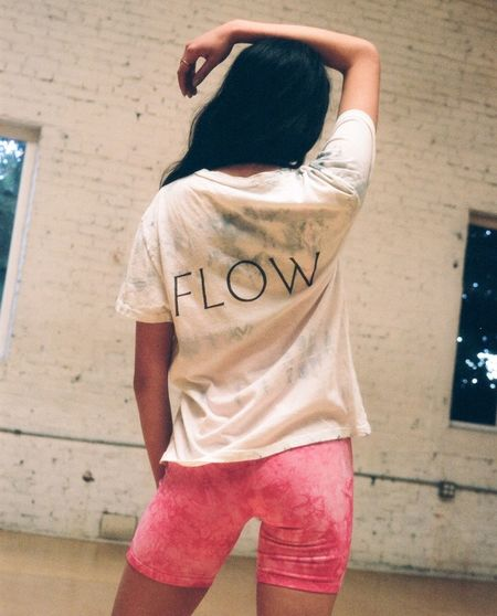 Lacausa Limited Edition Flow Vintage Tee - Crushed Ice