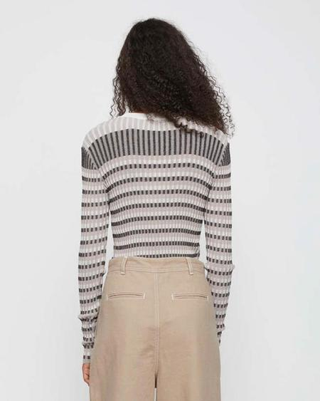 JUST FEMALE Lazio Knit - Nature Stripe