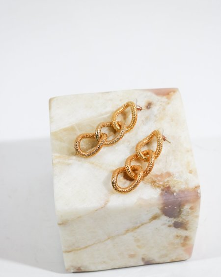 [Pre-loved] Vita Fede J21-3 Earrings - Gold