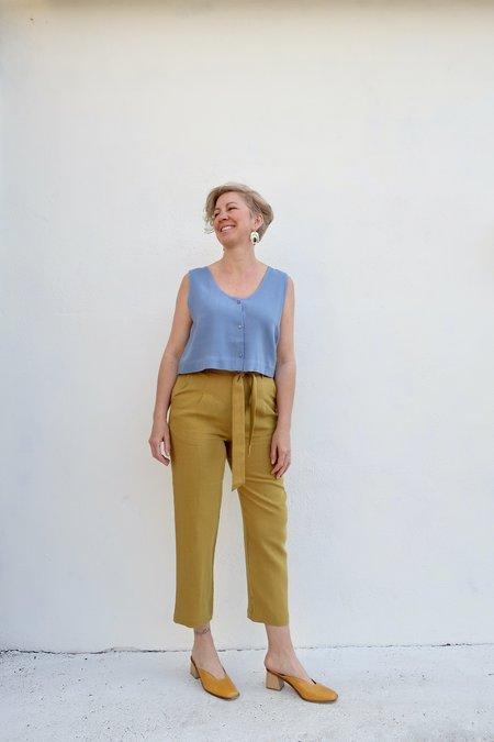Eve Gravel Saturne Pants - Olive