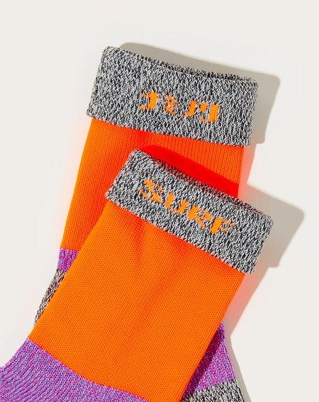 Kapital 92 Yarns Super-dry Grandelle Gogh Socks - Charcoal