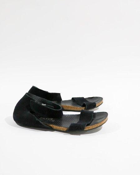 [Pre-loved] Pedro Garcia Suede Flat Sandals