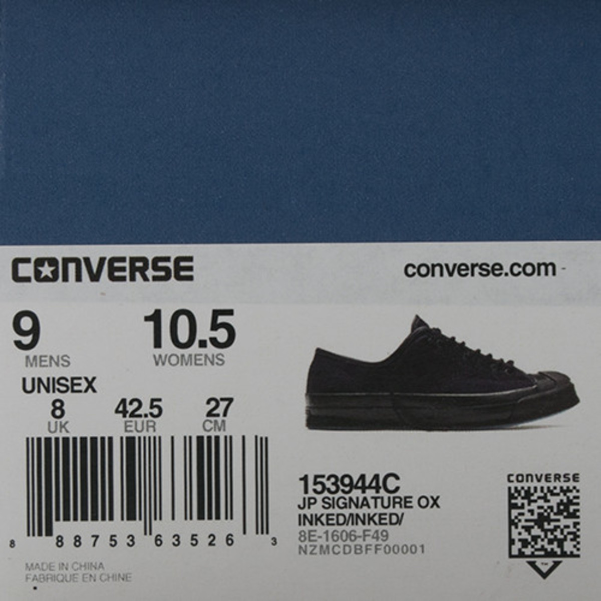 b90798ed270c CONVERSE JACK PURCELL SIGNATURE SHIELD CANVAS OX   INKED