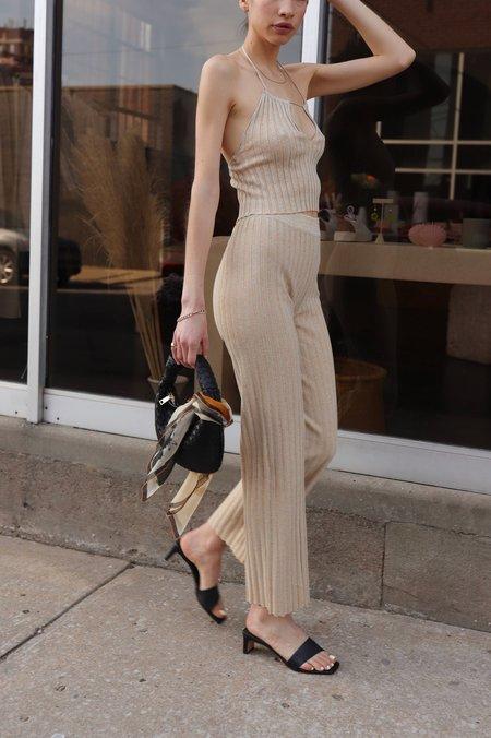 Paloma Wool Ribbed Pants - Beige