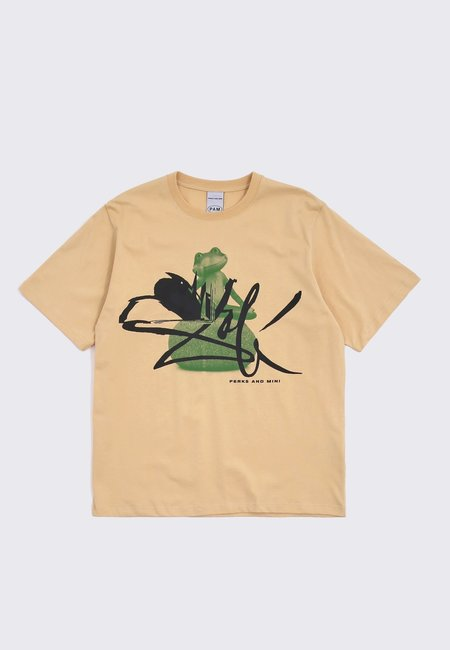Perks and Mini Frog Masters Series T-Shirt - sand