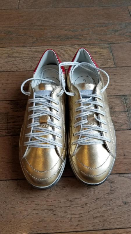 Primabase Forma Sneaker - Gold/Red