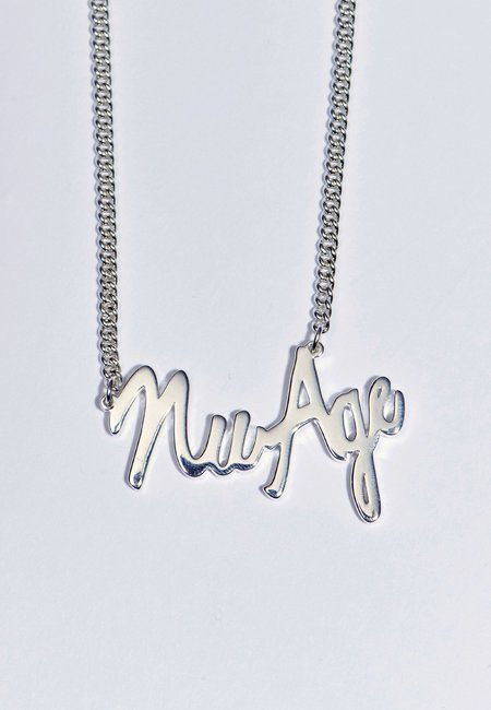Perks and Mini Nu/Age Necklace - silver