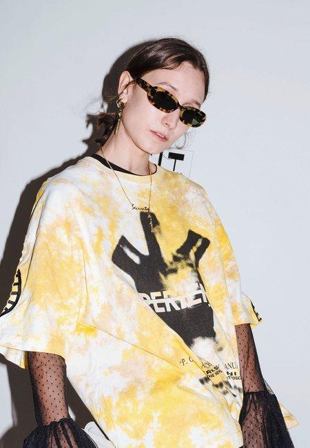 Unisex Perks and Mini X Poms Nu/Age Retta Sunglasses - Tortoise
