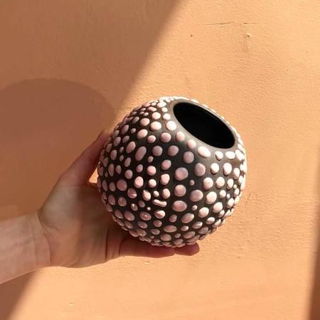 Clare Burson Egg Vase - Asphalt