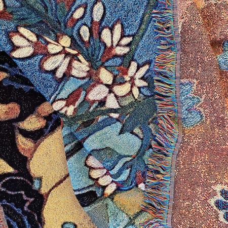 Sarah Ingraham Still Life Blanket - Blue