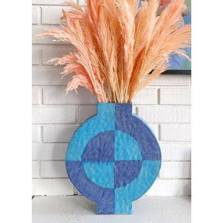 Kelsie Rudolph Geo Vessel IX vase - Blues
