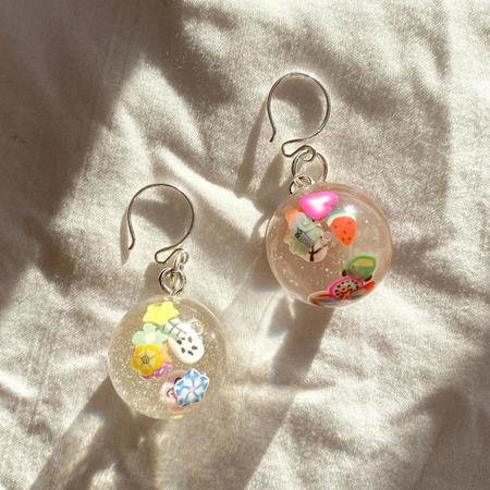 Physical Affection Lil Guys Ball Earrings
