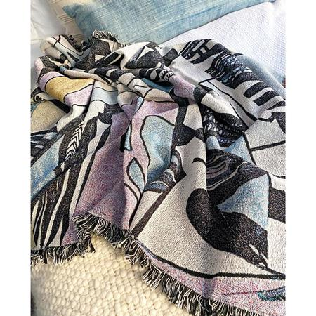 K-Apostrophe Miro Throw Blanket