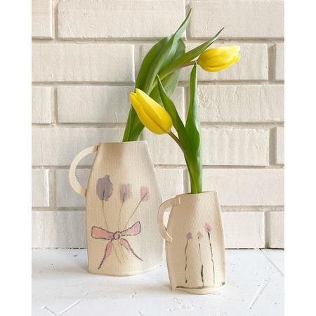 Alison Owen Pastel Bouquet Vase
