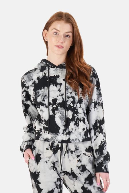 Cotton Citizen Milan Hoodie Sweater - Graphite Splatter