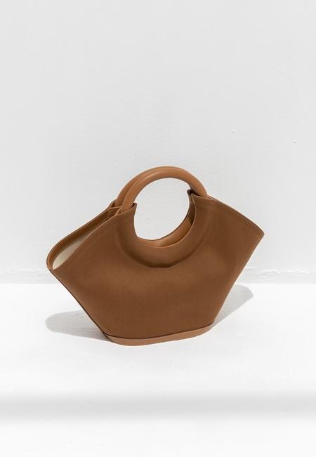 HEREU CABASSA CANVAS BAG - Tan brown