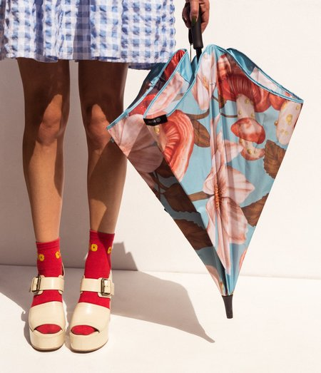 Kelly Thompson BLUNT X KT Blooms & Shrooms Coupe Umbrella - multi
