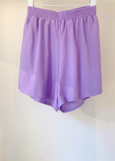 Tach Clothing Nilda Short - Lilac