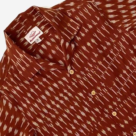 Battenwear Five Pocket Island Shirt - Clay Ikat