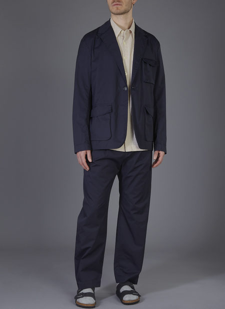 GREI. LOAFER SUIT JACKET - MIDNIGHT BLUE