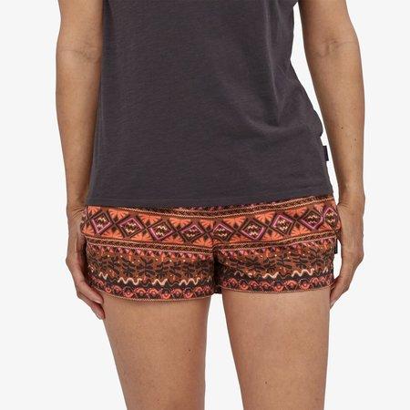 """Patagonia Barely Baggies™ 2 1/2"""" Mangrove Tiki Small Shorts - Henna Brown"""