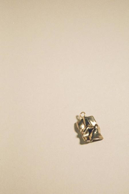 MARS Love Letter Necklace - Gold