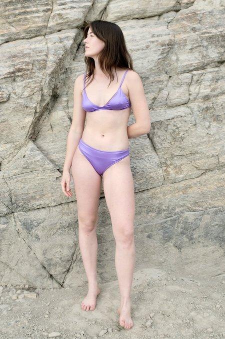 Baserange Mississippi Swim Top - Laguna Purple