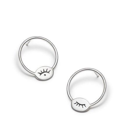 Nina Janvier Houria earrings II - Sterling Silve