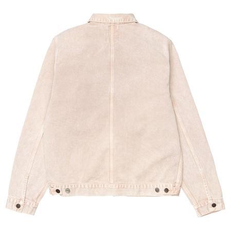 CARHARTT WIP Stetson Jacket - Dusty H Brown Worn Washed