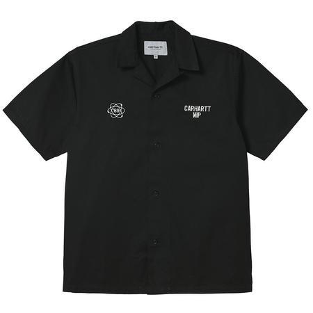 CARHARTT WIP S/S Cartograph Shirt - Black