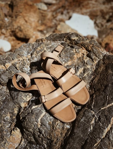 Officina del Poggio Essentials Amalfi Sandal - Natural