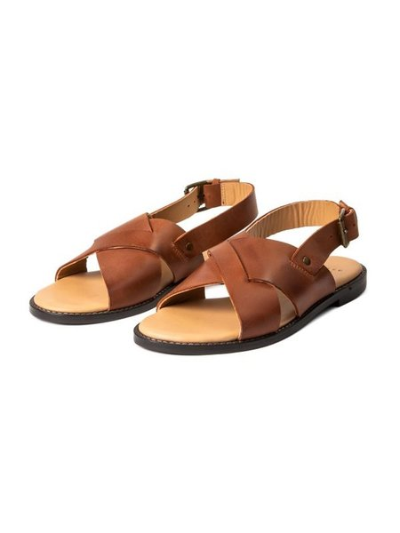 Hudson Nickel Sandal - Tan