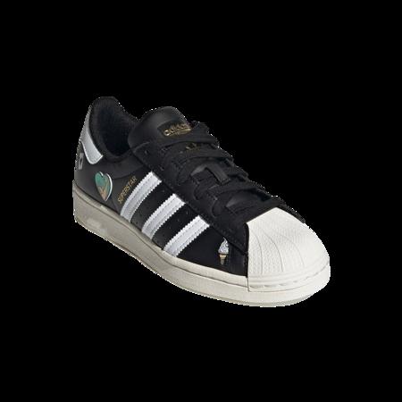 adidas Superstar GS FX5880 Shoes - Black