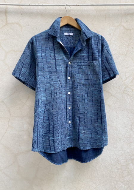 Indi Matty Shirt - Drinkwater Fine Stripe