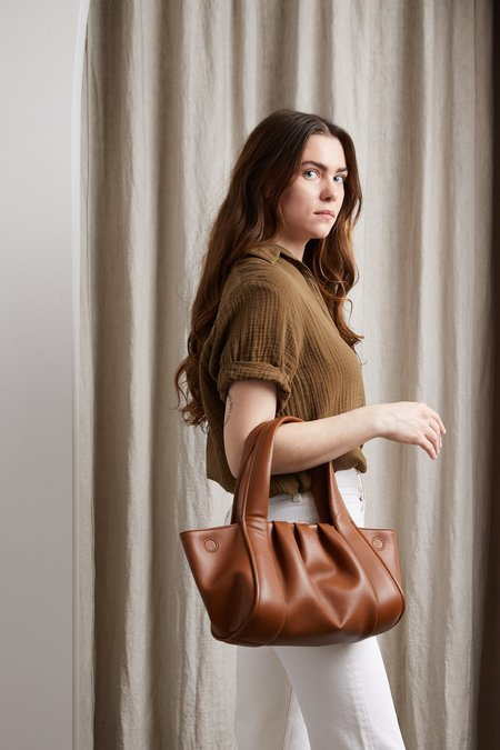 Themoire Clio Bag - Brown