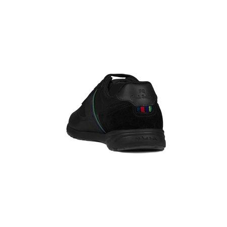 Paul Smith Huey Black Leather Sneaker - Black