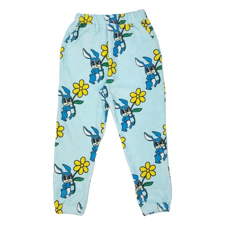 KIDS Hugo Loves Tiki Bunnies 80' Sweatpants - Blue