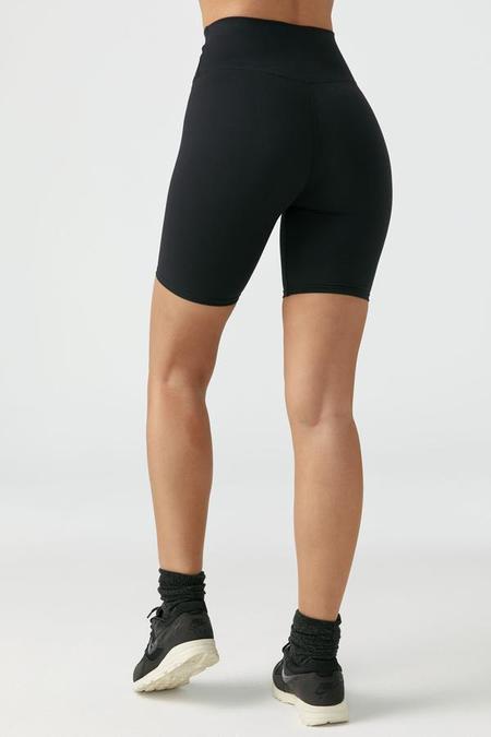 Joah Brown Biker Shorts - black