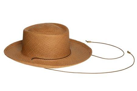 Clyde Gambler Hat - Terra Panama Straw